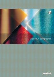 Matériaux composites - Von Roll