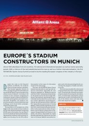 EUROPE´S STADIUM CONSTRUCTORS IN MUNICH - SPONSORs