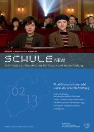 Filmbildung im Unterricht und in der Lehrerfortbildung - schul-welt.de