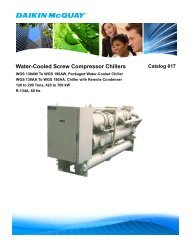 Water-Cooled Condensers - HTS