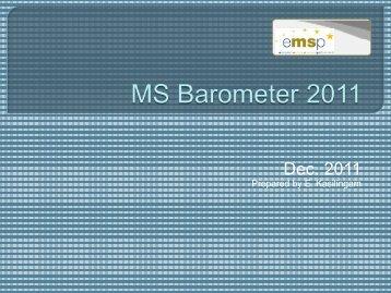 MS Barometer 2011