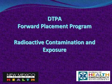 What Is Radioactive Contamination? - New Mexico Department of ...