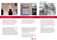 Cham – ein Ort mit Geschichte. Infos – auf Tafeln ... - Cham Tourismus