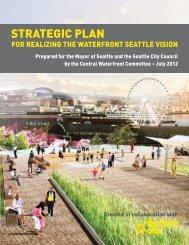 Central Waterfront Committee Strategic Plan - Seattle Aquarium