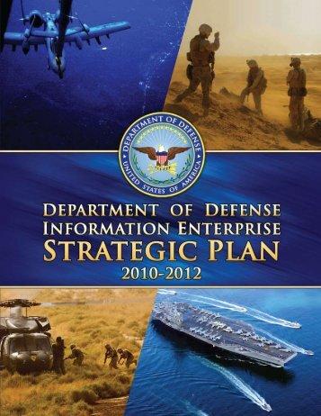 Department of Defense (DoD) Information Enterprise Strategic Plan
