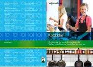 De kookklas: één van de themaklassen die Wellant ... - Wellantcollege