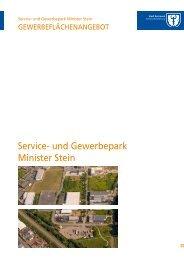 Service- und Gewerbepark Minister Stein