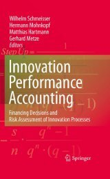 Innovation performance accounting: Financing Decisions and Risk ...