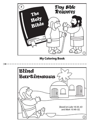 Blind Bartimaeus  mahwahjim