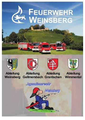 Abteilung Weinsberg Abteilung Gellmersbach ... - Stadt Weinsberg