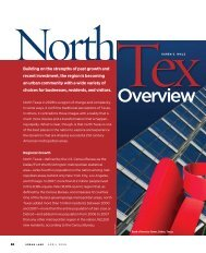 North Texas Overview - Strategic Community Solutions