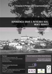 DEPENDÊNCIA GRAVE E PATOLOGIA DUAL: MENTE DOENTE ...