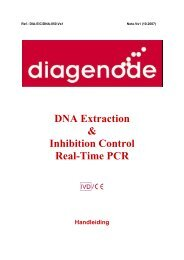 DNA Extraction & Inhibition Control Real-Time PCR - Diagenode ...