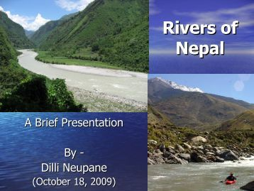 Rivers of Nepal - ROW Foundation