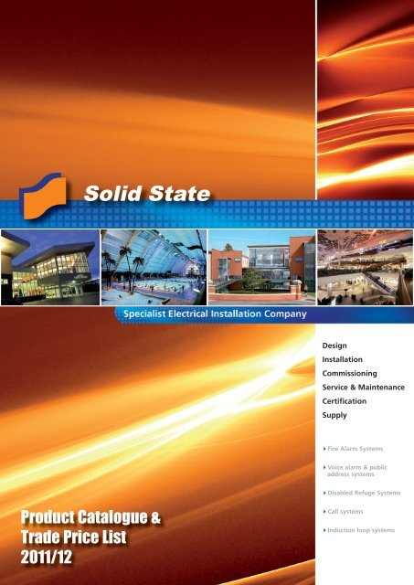 Product Catalogue & Trade Price List 2011/12 - Solid State Security