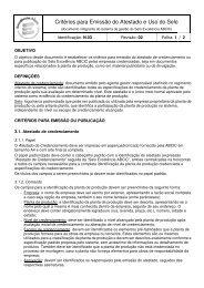 Norma N.03 - Emissão do Atestado e Uso do Selo - ABCIC