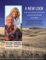 A New Look At the Agricultural - Agricultural & Applied Economics