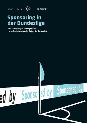 Sponsoring in der Bundesliga - SPONSORs