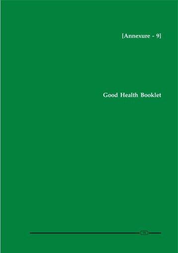 Good Health Booklet [Annexure - 9] - Apollo Life