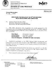 3 - DepEd Cebu Province
