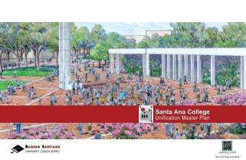 Unification Master Plan - Santa Ana College