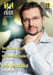 Peter Janků Veľkonočné maškrty Technika a dizajn - Slovnaft