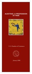 AUDITING - US Chamber of Commerce