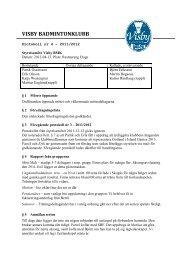 2012-04-13 - Visby Badmintonklubb