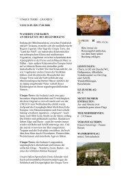 CINQUE TERRE - LIGURIEN VOM 21.09. BIS ... - Eine Welt Reisen