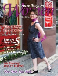 August/September 2010 - Coulee Region Women's Magazine