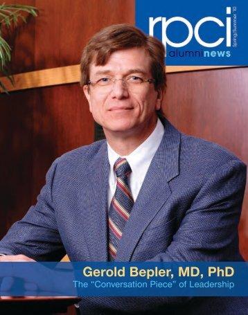 Gerold Bepler, MD, PhD - Roswell Park Cancer Institute