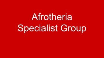 916 KB PDF - IUCN Afrotheria Specialist Group