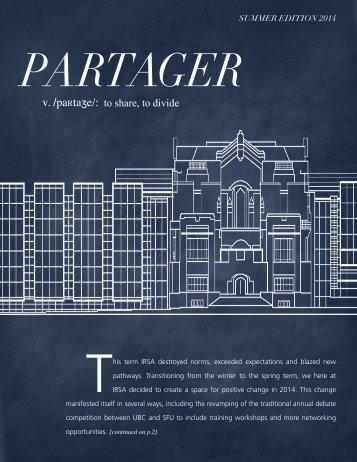 Partager-Summer-2014
