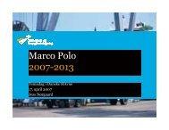 Marco Polo 2007-2013 - Danske Havne
