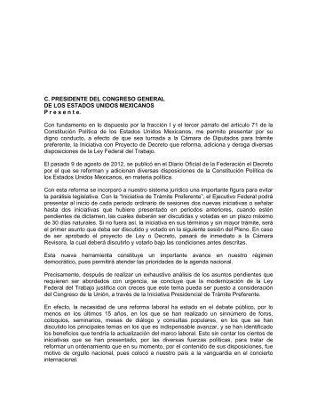 proyecto: reforma laboral - Instituto Mexicano de Contadores Públicos