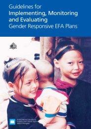 Gender EFA - UNESCO Bangkok