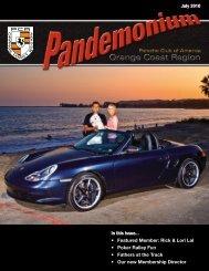 In this issue... Featured Member - PCA - Orange Coast Region