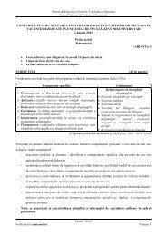 Titularizare Matematica 2012 - MateInfo.ro