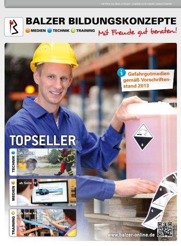TOPSELLER - BALZER BILDUNGSKONZEPTE GmbH