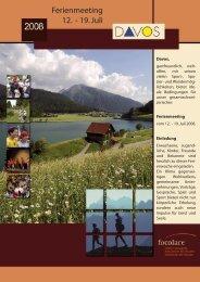 Ferienmeeting 12. - 19. Juli - Fokolar-Bewegung Schweiz