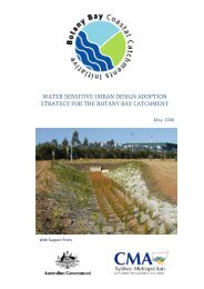 water sensitive urban design adoption strategy for the ... - WSUD