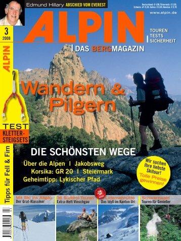 Wandern & Pilgern - Krah.com