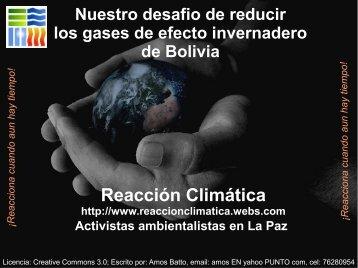 Reacción Climática - ILLA