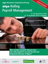 alga-Kolleg Payroll Management - DATAKONTEXT