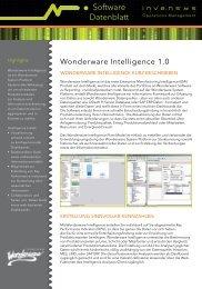 Software Datenblatt - Wonderware