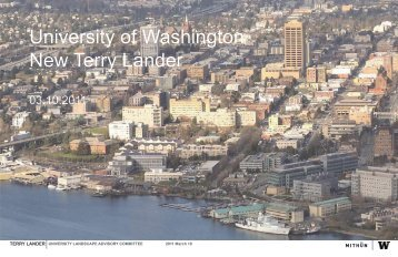 University of Washington New Terry Lander