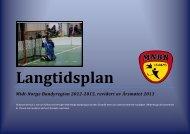 Midt-Norge Bandyregion 2012-2015, revidert av Årsmøtet 2013