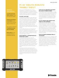 Datasheet Tablet Rugged PC - Al-Top Topografía