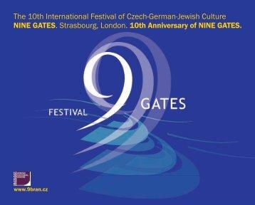 The 10th International Festival of Czech-German-Jewish ... - 9 bran