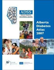 Alberta Diabetes Atlas 2007 - Institute of Health Economics
